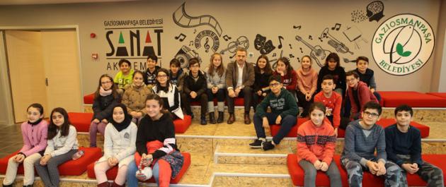 Gaziosmanpaşa, Sanat Akademisi'ne Kavuşuyor