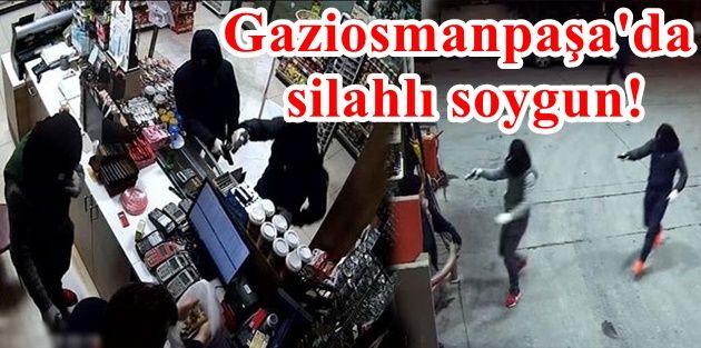 Gaziosmanpaşa'da akaryakıt istasyonuna silahlı soygun!