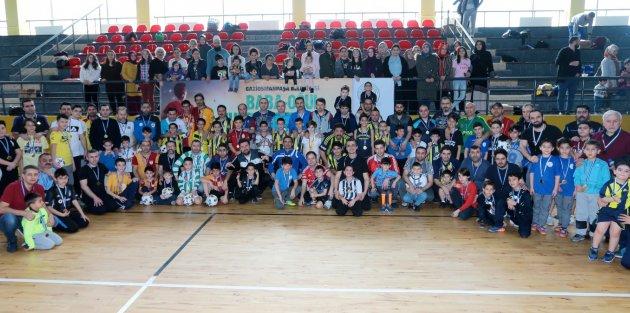 Gaziosmanpaşada Baba-Oğul Futsal Heyecanı