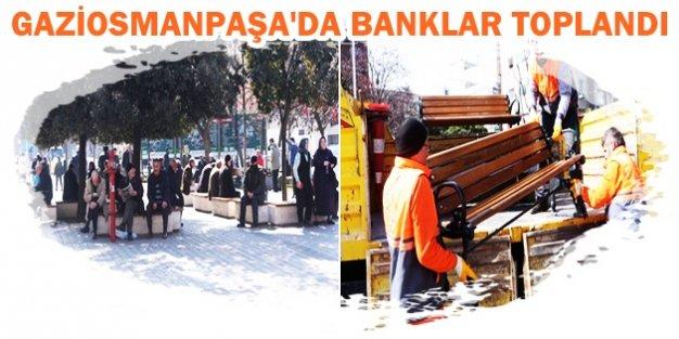 GAZİOSMANPAŞA'DA BANKLAR TOPLANDI