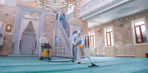 Gaziosmanpaşa'da Camiler 29 Mayıs'a Hazırlanıyor