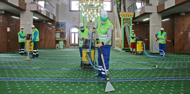 Gaziosmanpaşa'da Camiler Ramazan'a Hazır