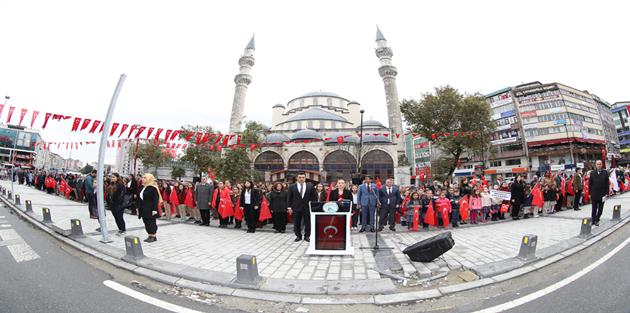 Gaziosmanpaşa`da Cumhuriyet Bayramı Coşkuyla Kutlandı