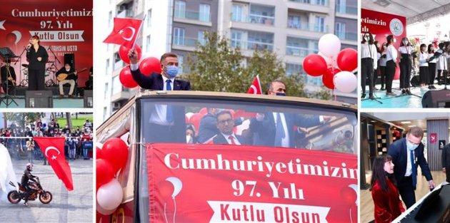 Gaziosmanpaşa'da Cumhuriyet Coşkusu!