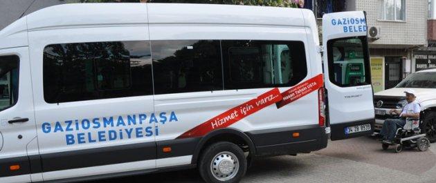 Gaziosmanpaşa'da Engelli Vatandaşlara Ücretsiz Ulaşım Hizmeti Sağlıyoruz