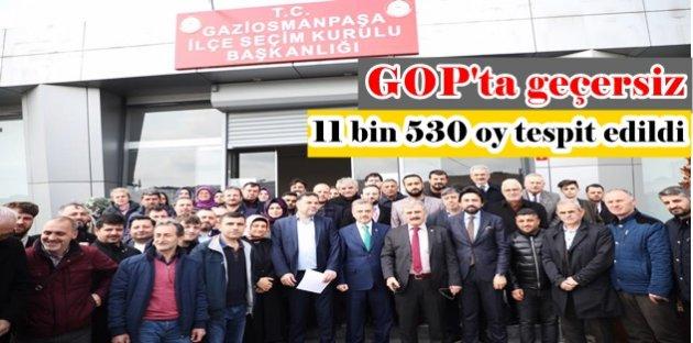 Gaziosmanpaşa'da geçersiz 11 bin 530 oy tespit edildi