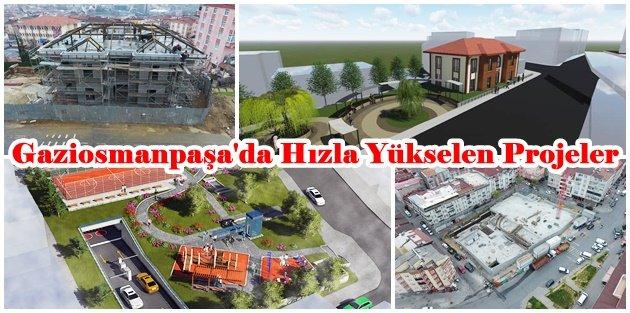 Gaziosmanpaşa'da Hızla Yükselen Projeler
