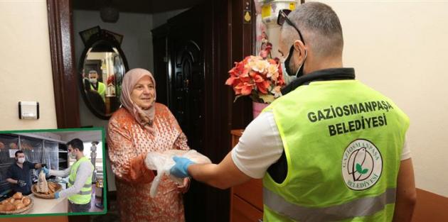 Gaziosmanpaşa'da İhtiyaç Sahipleri İçin Ücretsiz Ekmek Fişi