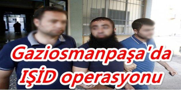 Gaziosmanpaşa'da  IŞİD operasyonu yapıldı