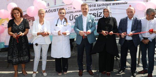 Gaziosmanpaşa'da Kadınlar İçin Ücretsiz Kanser Taraması Başladı