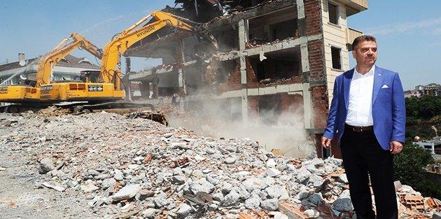Gaziosmanpaşa'da Kentsel Dönüşüm Çalışmaları Hız Kesmiyor
