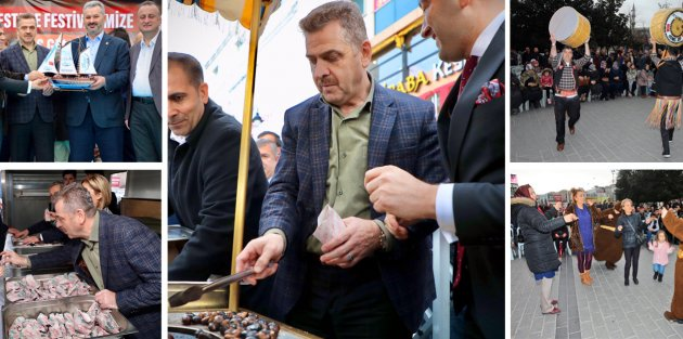 Gaziosmanpaşa'da Kestane Festivali Coşkusu