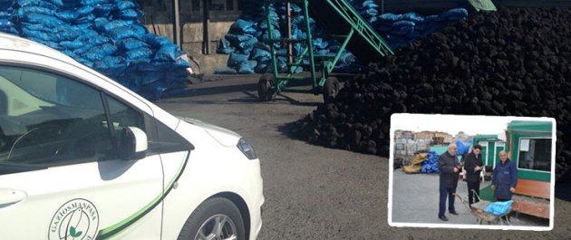 Gaziosmanpaşa'da Kış Mevsimi Öncesi Kömür Denetimleri Sürüyor
