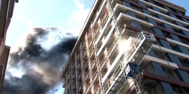 Gaziosmanpaşa'da korkutan yangın!