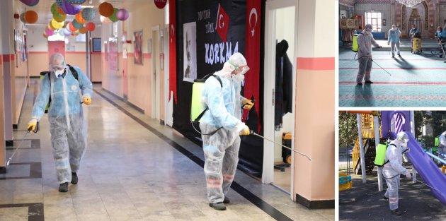 Gaziosmanpaşa'da Koronavirüs İle Mücadele Timi İş Başında