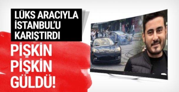 Gaziosmanpaşa'da lüks otomobilli trafik magandası yakalandı