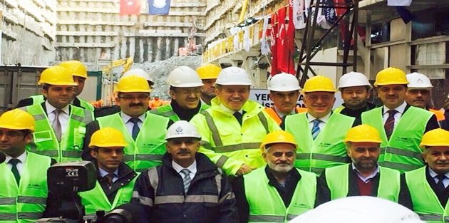 Gaziosmanpaşada Metro Durağının Temeli Atıldı!