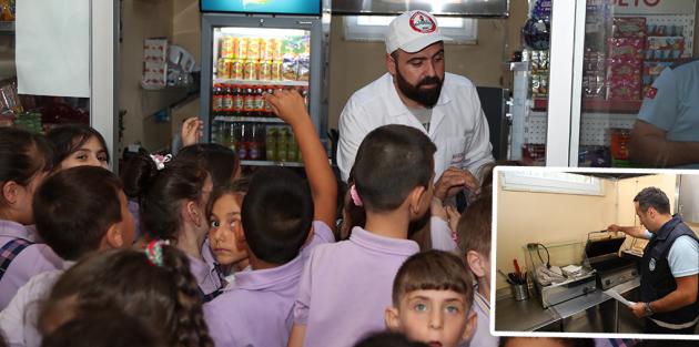 Gaziosmanpaşa'da Okul Kantinlerinde Sağlıklı Gıda Dönemi