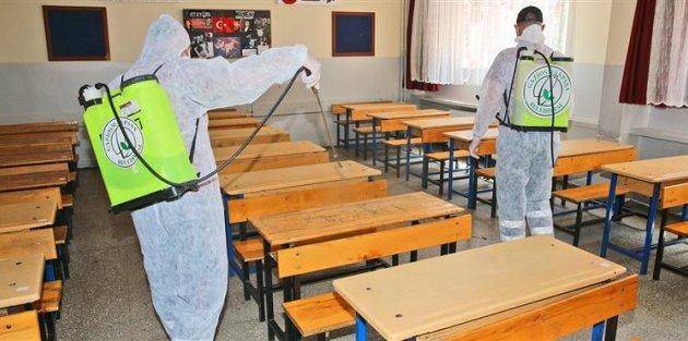 Gaziosmanpaşa'da Okullar Sınavlar İçin Hazır