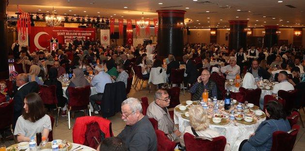 Gaziosmanpaşa'da Şehit Aileleri ve Gaziler İftarda Bir Araya Geldi