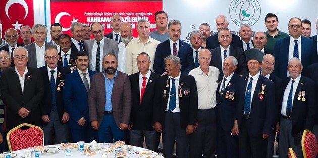 Gaziosmanpaşa'da Şehit Yakınları ve Gaziler Bir Arada
