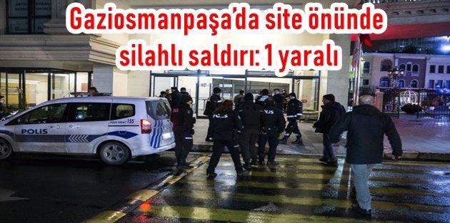 Gaziosmanpaşa'da site önünde dehşet!.