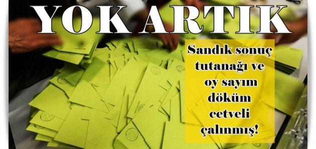 Gaziosmanpaşa'da skandal! Seçmen listesinden sayım döküm cetveline kadar çalmışlar!