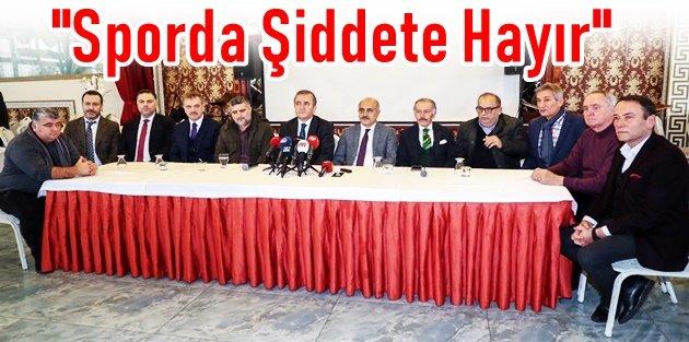 Gaziosmanpaşa'da 'Sporda Şiddete Hayır' Etkinliği Düzenlendi