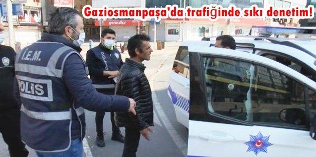 Gaziosmanpaşa'da trafiğinde sıkı denetim! Araçlar tek tek durduruldu