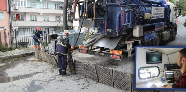 Gaziosmanpaşa'da Yağmur Suyu Kanal Çalışmaları Tüm Hızıyla Sürüyor