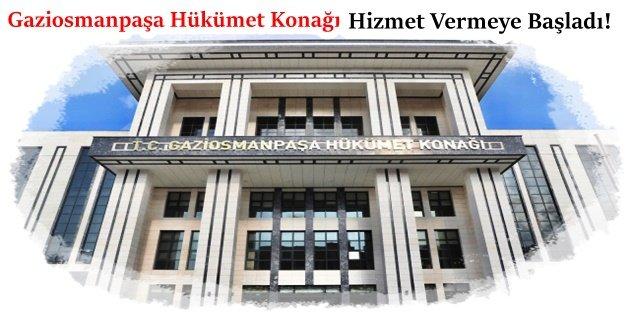 Gaziosmanpaşa'daki Resmi Kurumlar Yeni Hükümet Konağına Taşındı