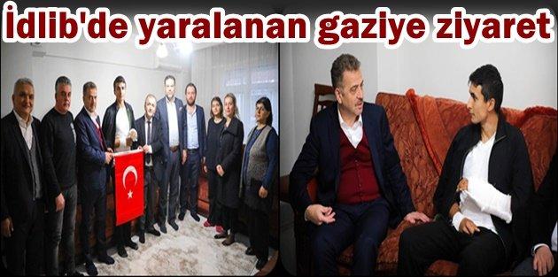 Gaziosmanpaşa'lı İdlib gazisine ziyaret