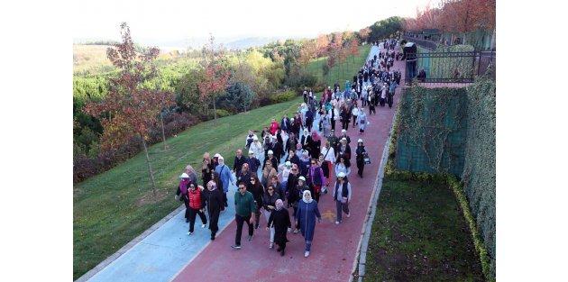 Gaziosmanpaşalı Kadınlardan Sağlıklı Yaşam Yürüyüşü