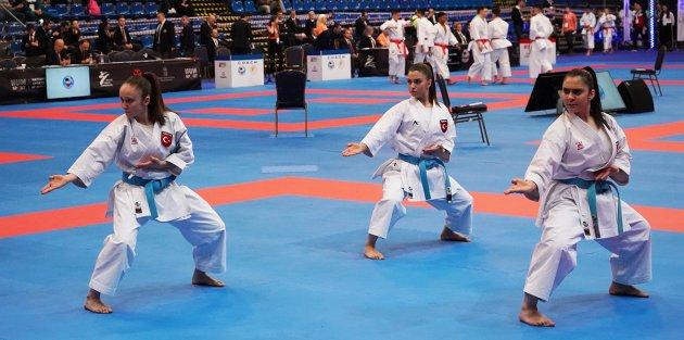 Gaziosmanpaşalı Milli Karateciler Avrupa Üçüncüsü Oldu