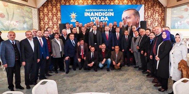 Gaziosmanpaşa'nın Siyasileri, İş Adamları İle Bir Araya Geldi