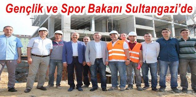 Gençlik ve Spor Bakanı Sultangazi'de