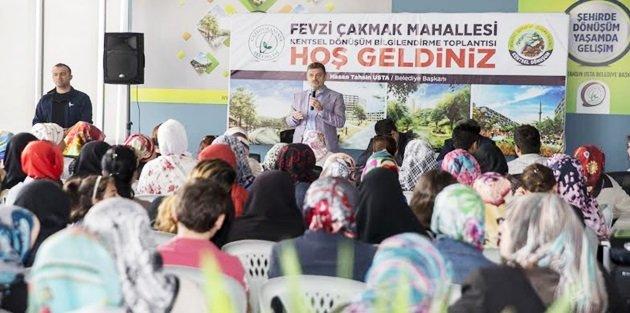 Gopta Bayanlara özel Kentsel Dönüşüm Bilgilendirme Toplantısı