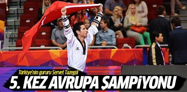Gopun Serveti üst üste 5. kez Avrupa şampiyonu oldu