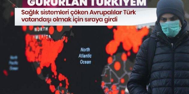 Gurur verici gelişme! Türk vatandaşı olmak için sıraya girdiler