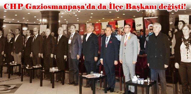 Hakan Bahçetepe CHP Gaziosmanpaşa'nın yeni ilçe başkanı oldu