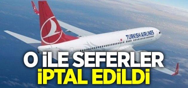 Hakkari'ye uçak seferleri iptal edildi