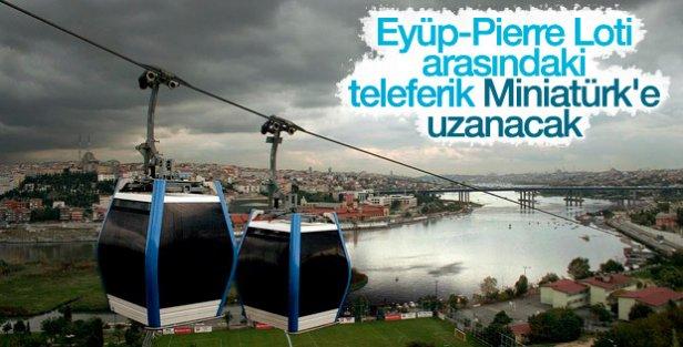 Haliç havadan da geçilecek: Eyüp-Pierre Lotii-Miniatürk arasına teleferik yapılacak