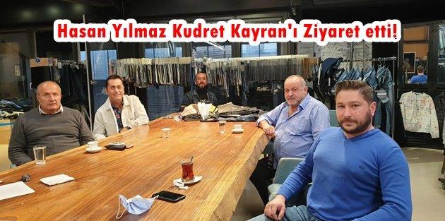 Hasan Yılmaz Kudret Kayran'ı Ziyaret etti!