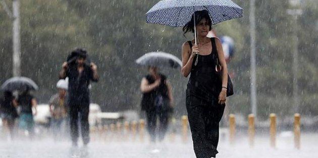 Hava durumu İstanbul için sağanak uyarısı AKOM gün verdi