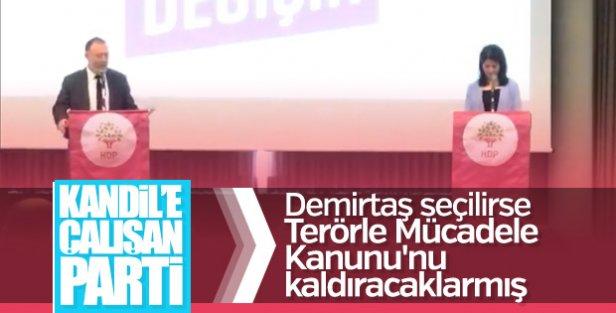 HDP'nin seçim vaadi: Terörle mücadeleyi kaldıracağız