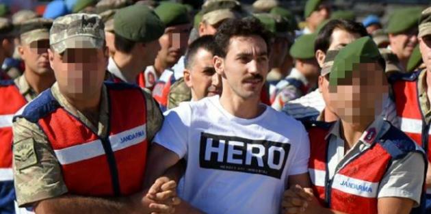 Hero tişörtü soruşturmasında 5 kişi açığa alındı
