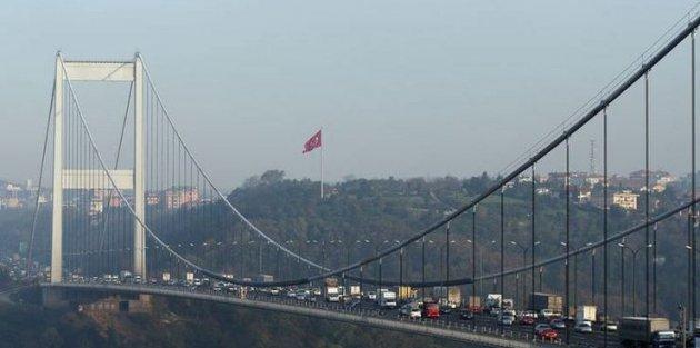 İkinci sınıf araçlar Fatih Sultan Mehmet Köprüsü'nü kullanabilecek