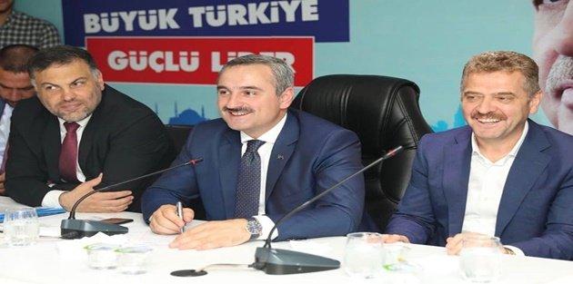 İl Başkanı Şenocak, Gaziosmanpaşa İlçe teşkilatını Ziyaret Etti!