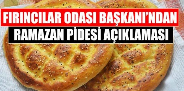 İstanbul Fırıncılar Odası Başkanı Erdoğan Çetin'den ramazan pidesi açıklaması!