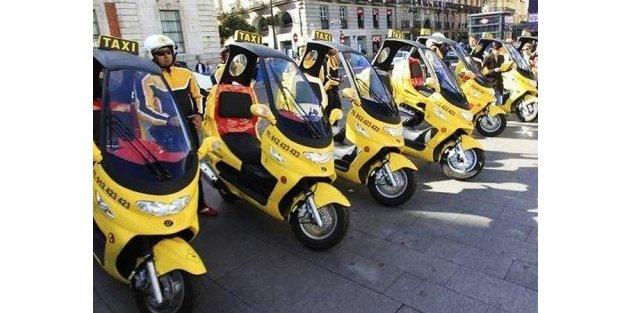İstanbul'a alternatif ulaşım yöntemi Moto Taksi